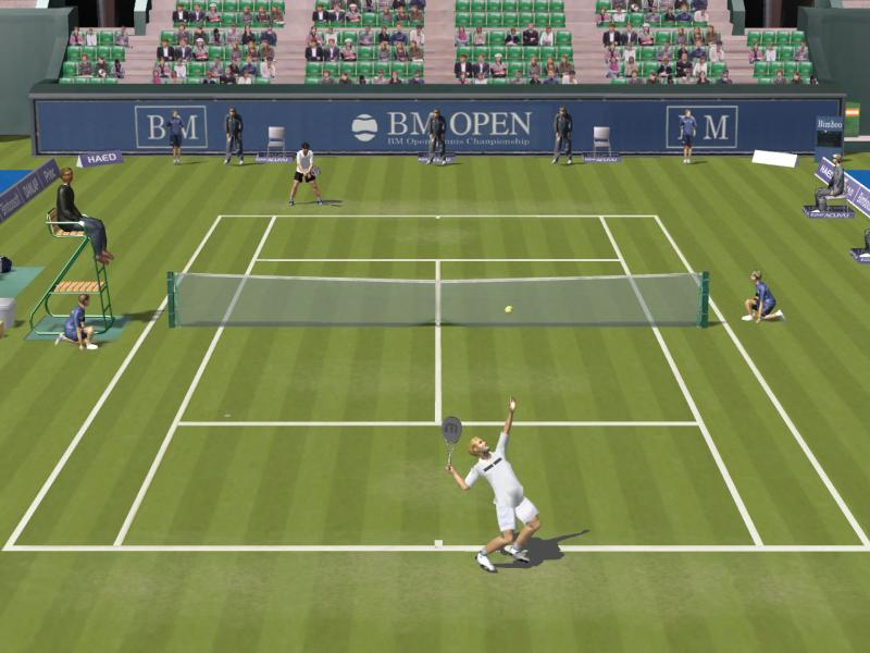 Screenshot of Dream Match Tennis